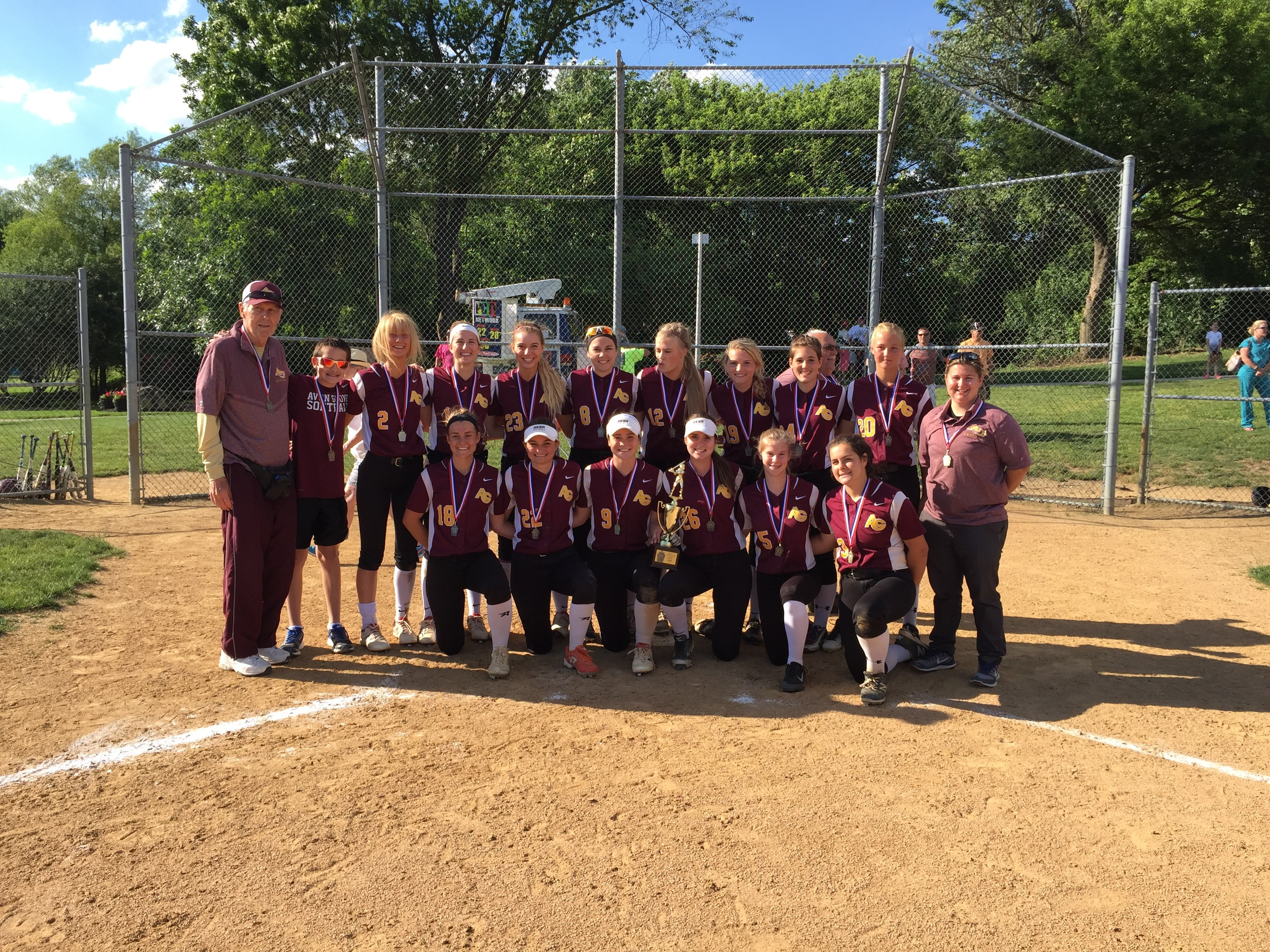 Softball District One Champs