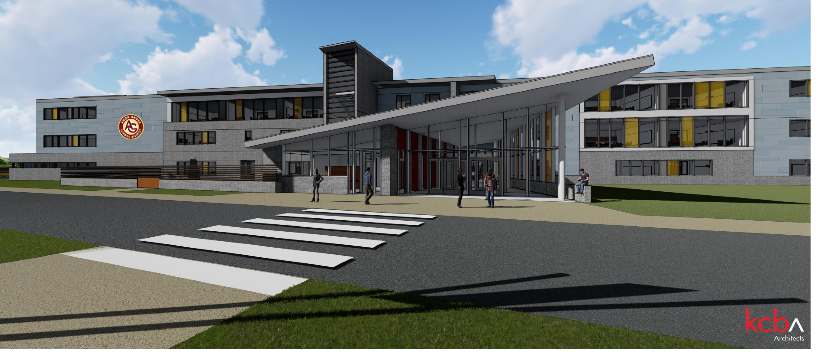 New Avon Grove High School - Architect Rendering